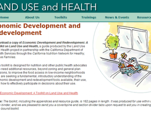 Economic Development and Health Toolkit