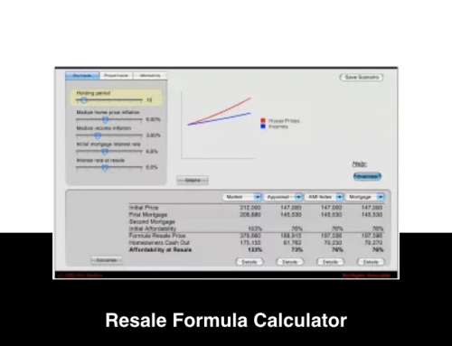 Resale Formula Comparison Tool